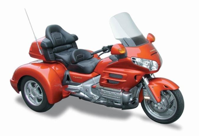 Honda Goldwing Trike Miettrike Usa American Motorcycle Rentals