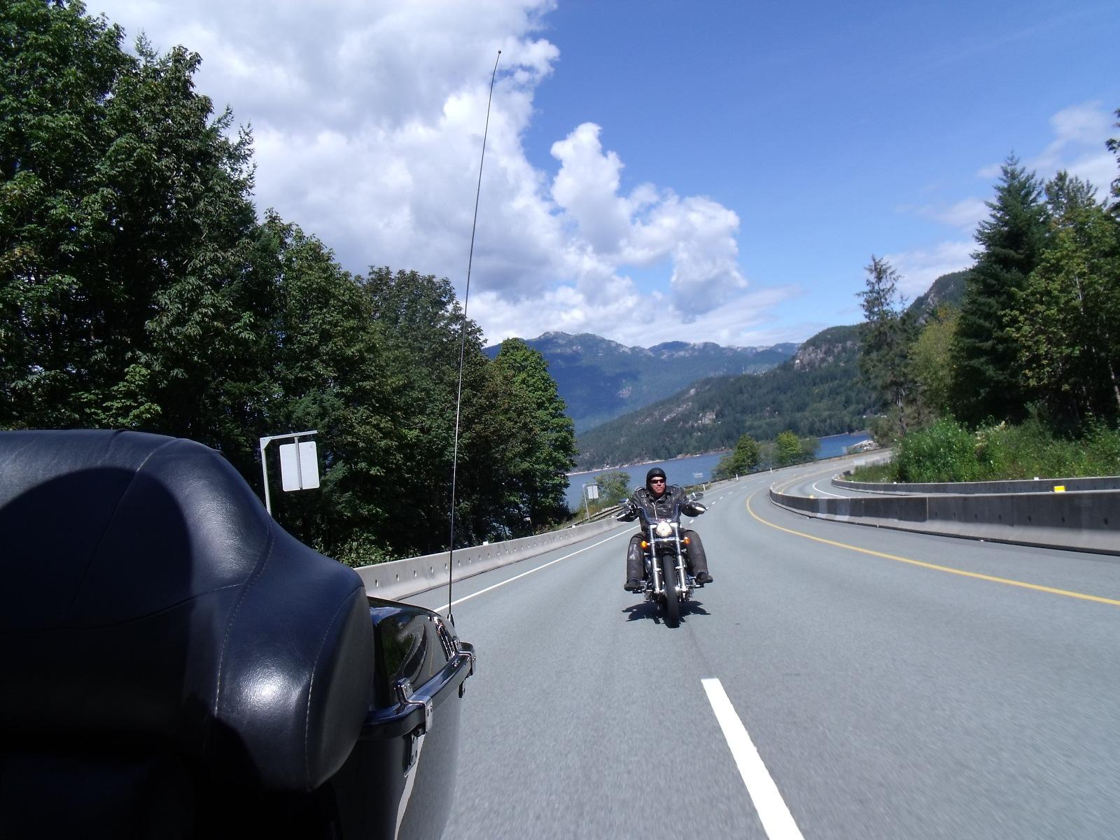 Vancouver Motorrad mieten