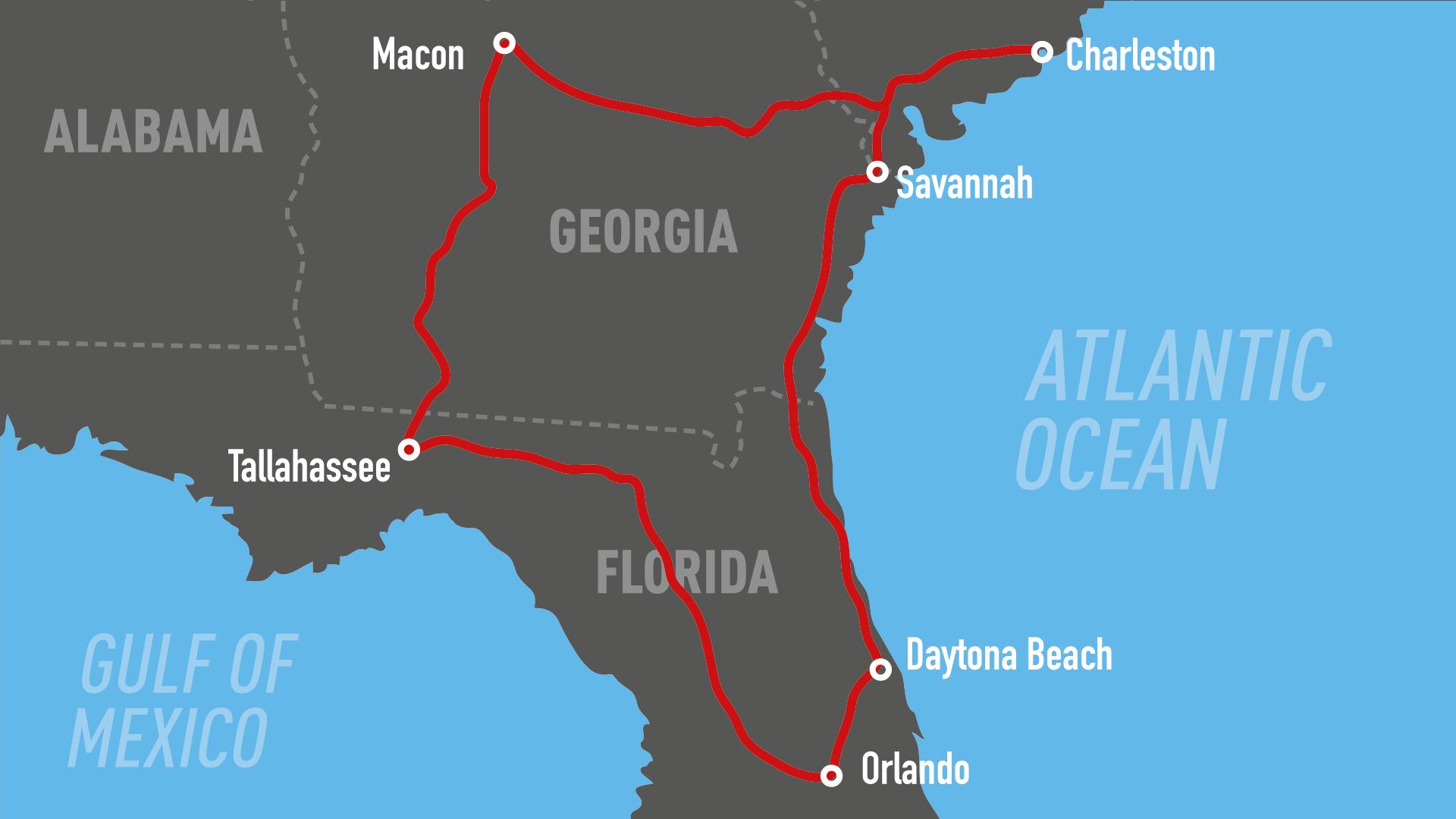 Motorradreisen Harleytouren Harley mieten in den USA
