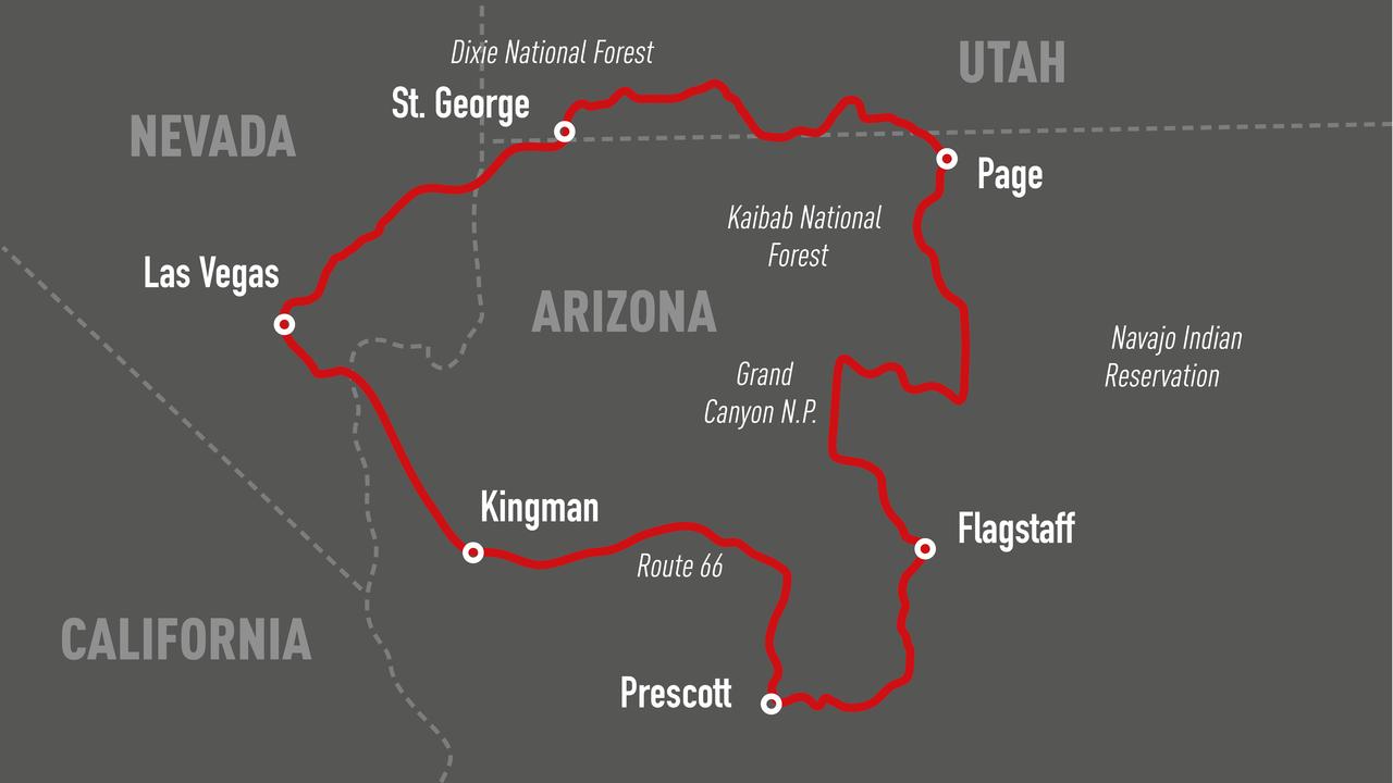 Harley Tour las Vegas USA