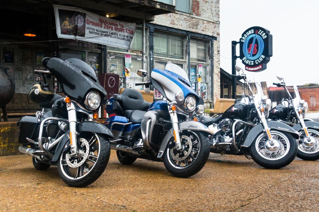 Electra Glide in USA New Orleans mieten Harley