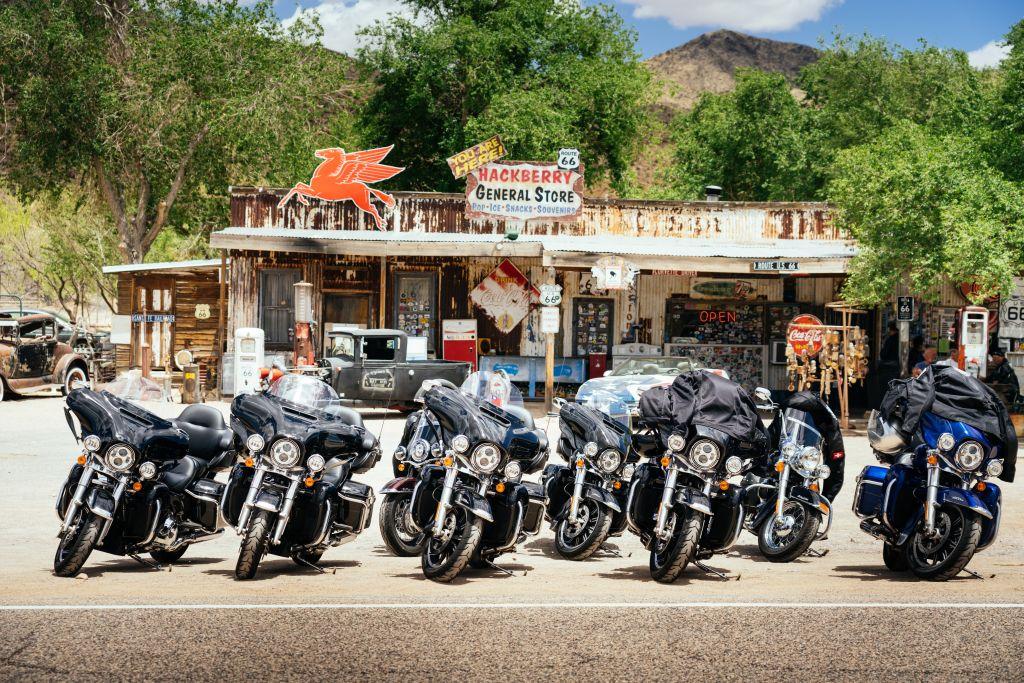 Route 66 Motorrad mieten USA