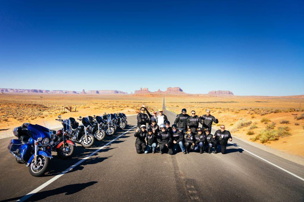 Harley mieten in USA Motorradreisen USA