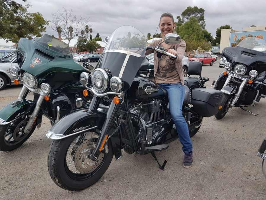 American Motorcycle Rentals TOurguide Anna