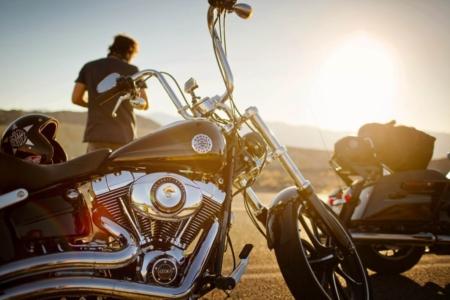 EagleRider Harley Breakout Davidson Motorradreisen USA